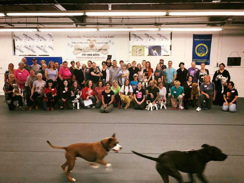 Group photo, with pibbling, NJ